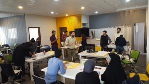 کارگاه آموزشی بوم نام، اختصاصی استارت آپ های راه یافته به چهارمین دوره ی کشف شتابدهنده فردوسی بخش بازی تیمی