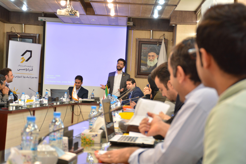 علی بنایی در رویداد صادرات محصولات استارتاپ ها و شرکت های دانش بنیان