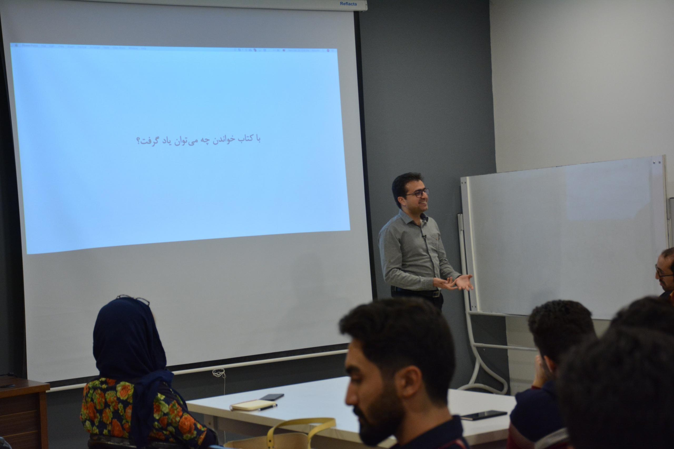 کارگاه بازیسازان مشهدی با حسین مزوعی
