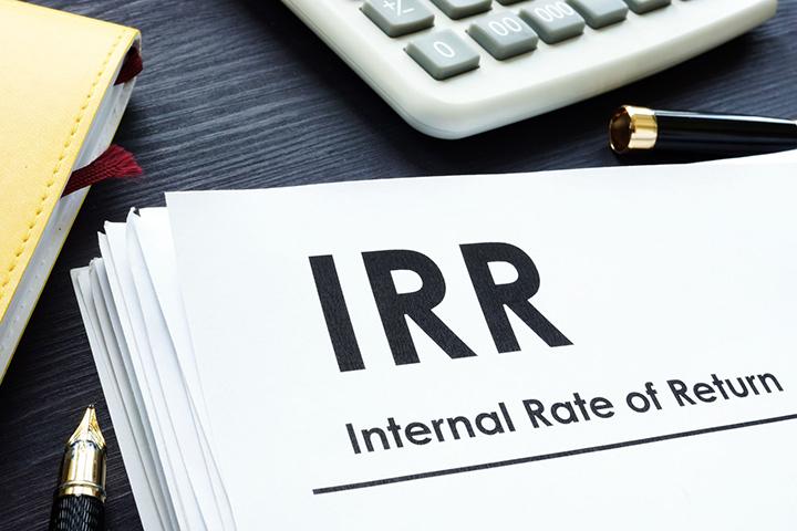 تحلیل IRR (Internal Rate of Return)